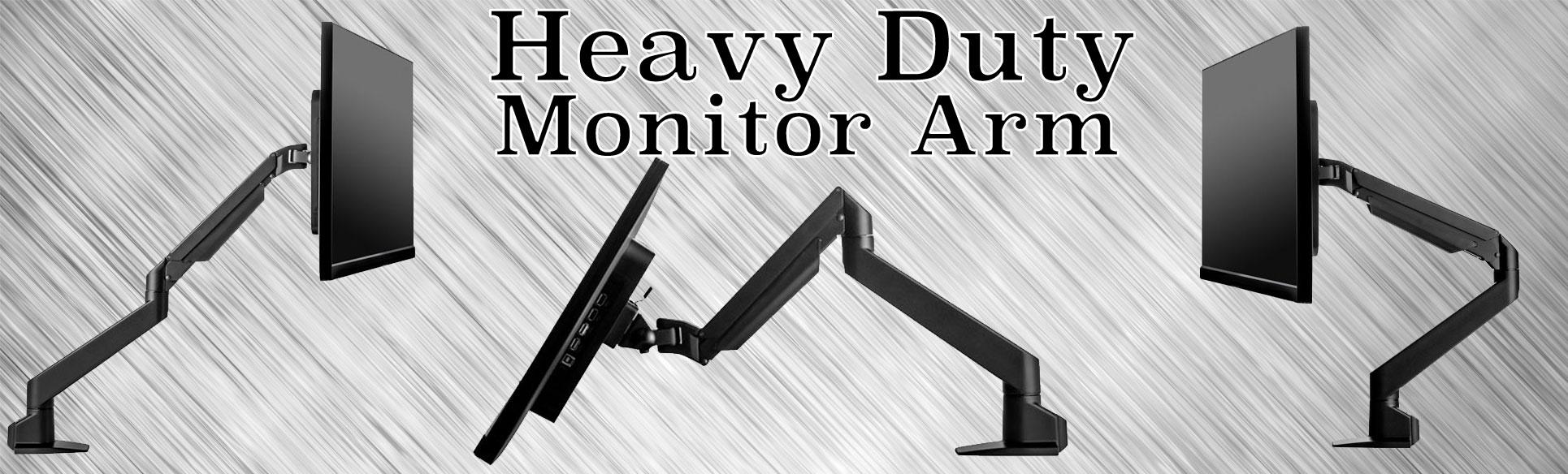 heavy duty monitor arm